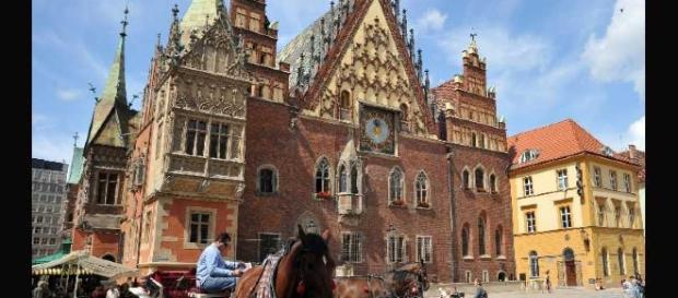 Il centro di Riga, capitale della Lettonia