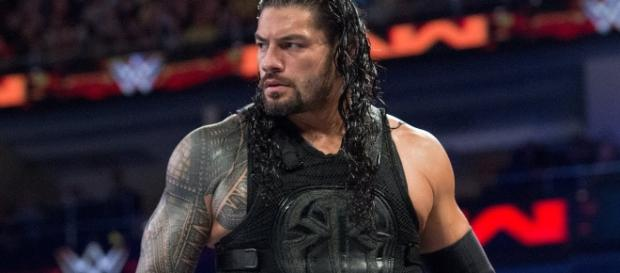 Roman Reigns was unable to win the Intercontinental title against The Miz on 'Raw' due to Sheamus and Cesaro. [Image Credit: WWE/YouTube)