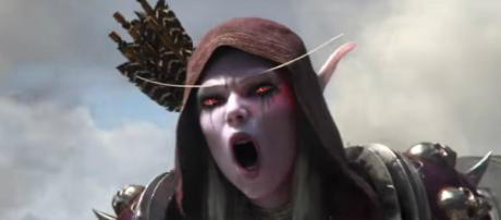 For the Horde! New WoW expansion Battle for Azeroth. Image via Youtube/World of Warcraft