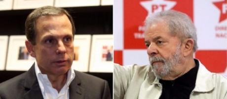 João Doria e Lula não 'se bicam'