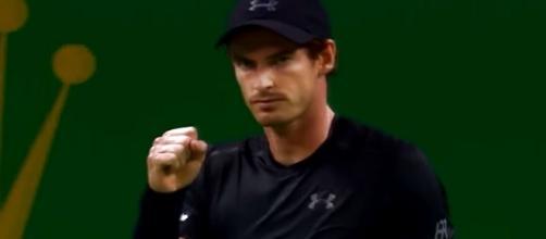 Andy Murray in Shanghai/ Photo: screenshot via Tennis TV channel on YouTube