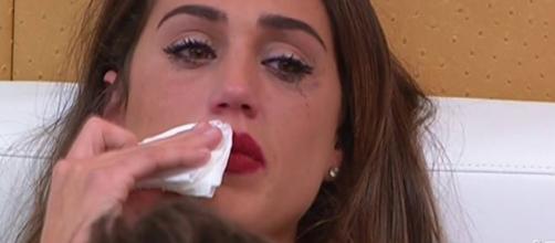 Cecilia Rodriguez in lacrime al Grande Fratello Vip 2017