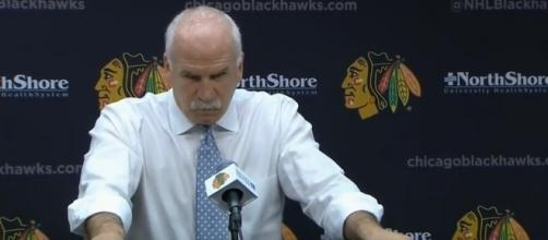 Coach Quenneville in much of the conversations of the struggles - image - NHL irie / Youtube