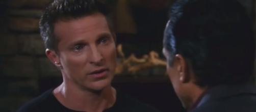 'General Hospital' Jason Morgan saves Sam on Monday. (Image Credit: Lilly/YouTube screencap)