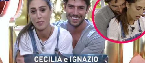 Ignazio si dichiara per Cecilia al GF Vip