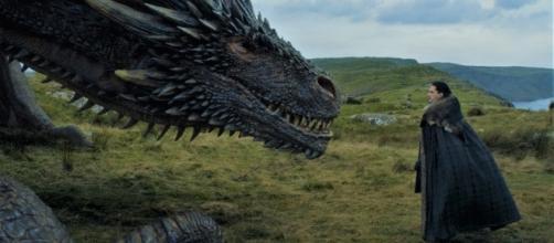 Juego de Tronos: ¿Será Drogon el dragón que monte Jon Snow?