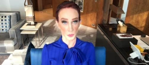 Kathy Griffin releases video statement on issue with Andy Cohen [Image Credit: Kathy Griffin/YouTube]
