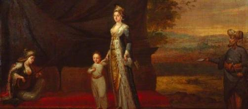 Lady Mary Wortley Montagu with her son, Edward Wortley Montagu ... - artuk.org