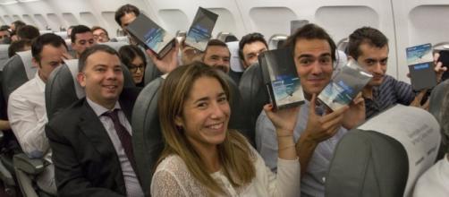 Les passagers de ce vol ont vraiment été des petits veinards...