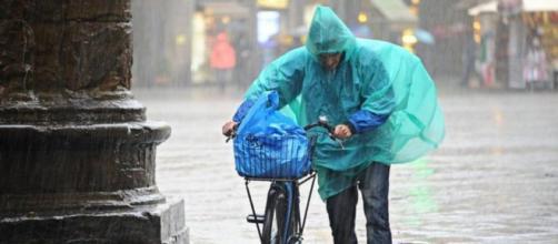 Meteo: pioggia in arrivo su tutta l'Italia