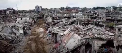 Scale Of Destruction Revealed After Battle For Marawi | NBC News Image credit NBC News | YouTube