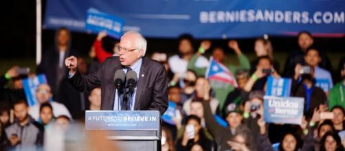 Senator Bernie Sanders visited Puerto Rico last Friday. [Image via Flickr/Michael Vadon]