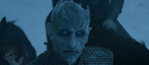 The Night King 'Game of Thrones' character/ Photo: screenshot via HBO official channel on YouTube