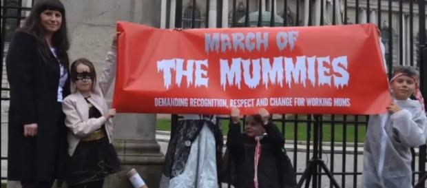 March of the Mummies', Belfast City Hall - Image credit - VIEWDigital|YouTube