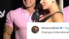 Felipe Franco faz nova declaração para Juju Salimeni e mensagem emociona