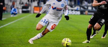 Foot - Florian THAUVIN - 07.12.2014 - Marseille / Metz - 17eme ... - madeinfoot.com