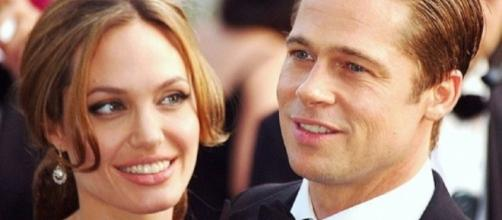 Angelina Jolie and Brad Pitt's relationship from 2005 sparked the feud with Jennifer Aniston. ~ 	Georges Biard/Wikimedia Commons