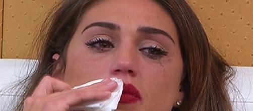 Cecilia Rodriguez lascia Francesco Monte e si sente male al Grande Fratello Vip 2