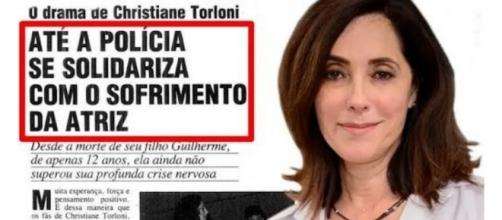 Drama vivido pela atriz Christiane Torloni