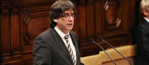El ex presidente de Cataluña Carles Puigdemont