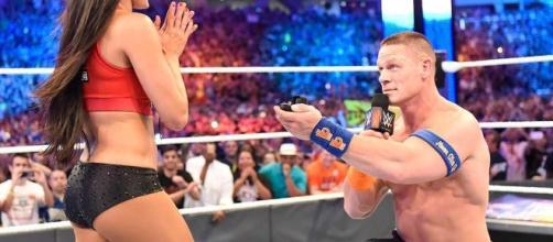 John Cena and Nikki Bella from screenshot