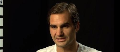 Roger Federer during an interview in Basel, Switzerland/ - Image credit - ATPWorldTour | YouTube
