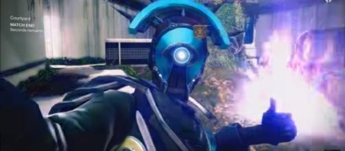 The upcoming Selfie emote in 'Destiny 2.' - (Image Credit: MoreConsole/YouTube screencap)