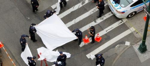 Tiroteo y atropello masivo en Manhattan deja al menos 6 muertos