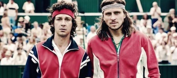Borg vs McEnroe, la mitica finale di Wimbledon sbarca al cinema