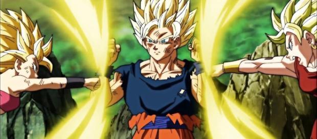 'Dragon Ball Super' Goku's purpose for fighting Caulifla & Kale is to master UI.[Image Credit: dbsVideo BR/YouTube Screenshot]
