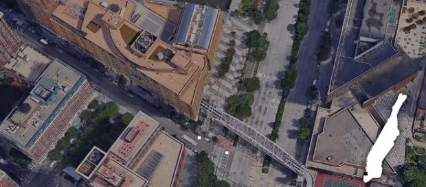 Imagen de Google Maps del lugar del ataque