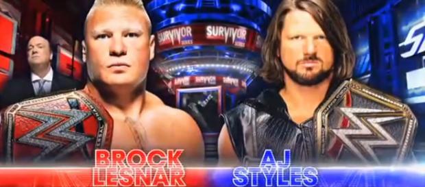 Main event di Survivor Series 2017 (foto WWE)