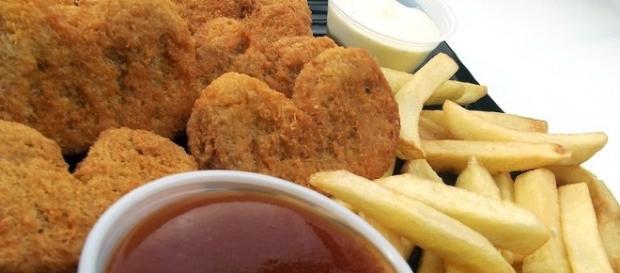 Nuggets de poulet de fast food