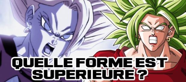 Quelle forme de Kale est Supérieure ? Super Saiyan Berserker contrôlé
