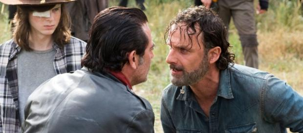 """The Walking Dead's Rick is """"willing to die"""" to defeat Negan - (Image Credit: Digitalspy/Youtube screencap)"""