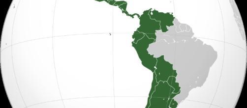 América Hispana por Heraldry/Wikimedia Commons