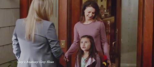 "Arizona Robbins' parenting to be featured in the all-new ""Grey's Anatomy"" season. (Image Credit: Grey's Anatomy Grey Sloan/YouTube screenshot)"