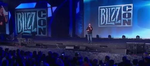 BlizzCon opening ceremony. (image source: World of Warcraft/YouTube)