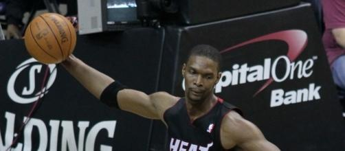 Chris Bosh has not ruled out a return to the league and was spotted at the Los Angeles Lakers (Image Credit: Keith Allison/Flickr)