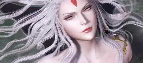 Cloud of Darkness in 'Dissidia Final Fantasy.' (image source: スクウェア・エニックス/YouTube)