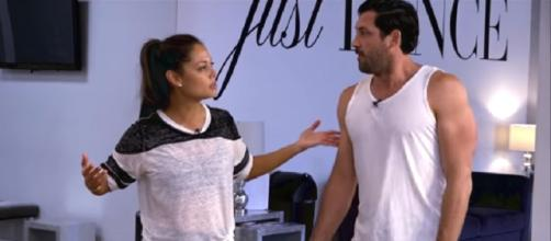 Dancing With The Stars Maks and Vanessa. (Image Credit: ABC/YouTube)