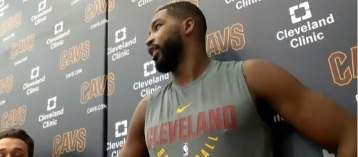 Image via Youtube channel: Sports And News #TristanThompson #ClevelandCavaliers