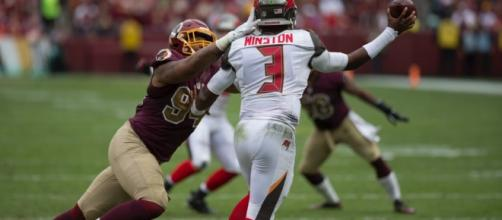 Jameis Winston is looking for a strong showing against a struggling Patriots defense. Image Source: Flickr | Keith Allison