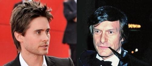 Jared Leto to play Hugh Hefner in upcoming biopic [Images: Wikimedia Leto by Nicolas Genin/CC BY-SA 2.0/Hefner in 1978 by Alan Light/CC BY 2.0]