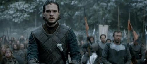 Jon Snow on 'Game of Thrones' - Image via Twitter/Thrones Facts