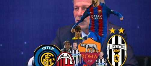 Juve Milan Roma e Inter sul calciomercato