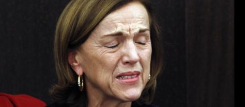 La ministra Fornero in lacrime quando presentò la sua Riforma