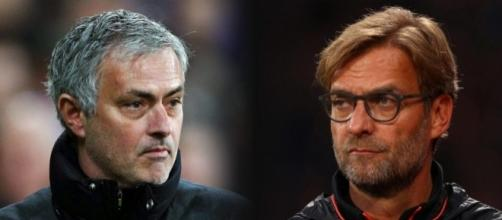 Jose Mourinho's squad will beat Jurgen Klopp's floundering fold on Saturday... pic - thesun.co.uk