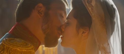 Matilda features Nicholas II's affair before his marriage. Credits to: Youtube/KinoGuru all trailers