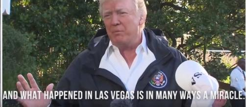 President Donald Trump / Photo VIa Youtube : Washington Post